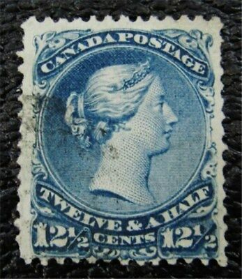 nystamps Canada Stamp # 28 Used $100