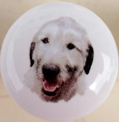 Cabinet Knob Irish Wolf Hound DOG knobs 229 Wolfhound