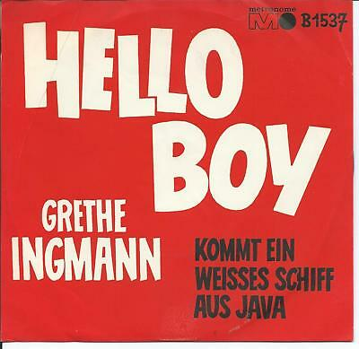 Metronome Single GRETHE INGMANN Hello Boy