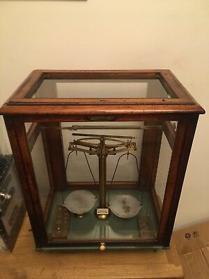 L.Oertling Ltd London Scientific Scales , Balance Apothecary Scales ?