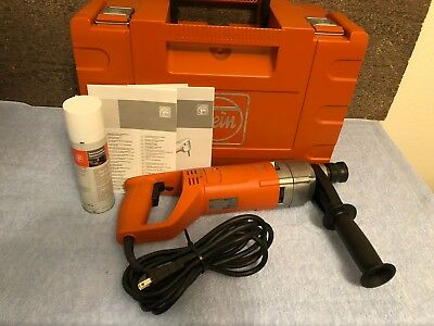 EXCELLENT FEIN Handheld Metalcore Core Drill Drilling System KBH25 w/ Case