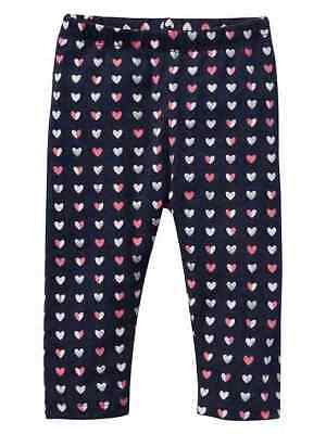 "HEARTS.......Girls GAP Leggings..... ""NWT"" (18 - 24 months)"