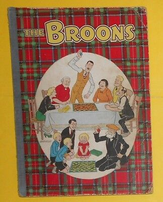 The Broons 1957, Dudley D Watkins , Vg Scarce Book