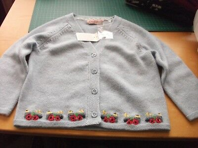 New with tags cath kidston boys tedwin knitted cardigan 12-18 months