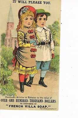 VICTORIAN ADVERTISING / TRADE Card   R. W. BELL MANUFACTURING CO. - BUFFALO, NY