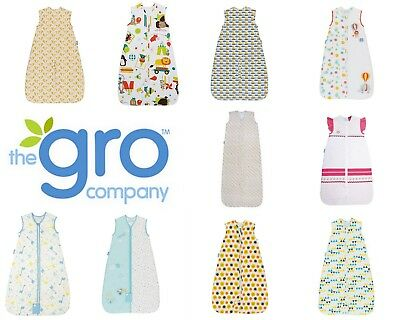 Grobag Baby Travel Sleeping Bags Fits 5 Point Harness Tog 1.0 Rooms 21-23 deg C
