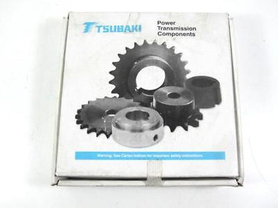 "Tsubaki 60B18F-1 Single Strand 18 Tooth Sprocket for #60 Chain 1"" Bore NEW"