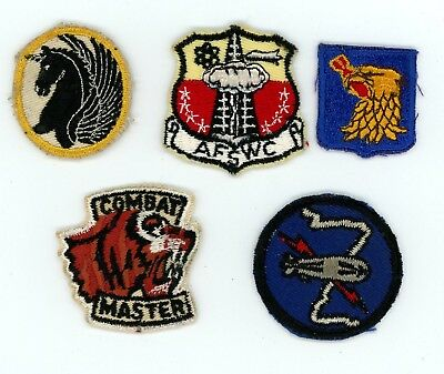 1960-1970s small cap patches USAF or Navy (none glow)