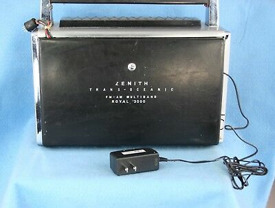 ZENITH  TRANS-OCEANIC 1000 and 3000  AC ADAPTER for Battery only units.  NEW