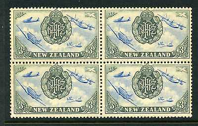 New Zealand 3d Peace - Block of 4 with Variety - Mint