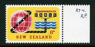 New Zealand 1963 8d Cable with Variety - MUH