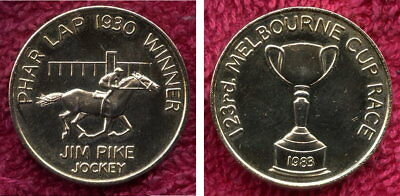 Pharlap Melbourne Cup Token