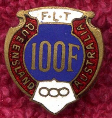 Independant Order of Odd Fellows  Enamel Badge IOOF.