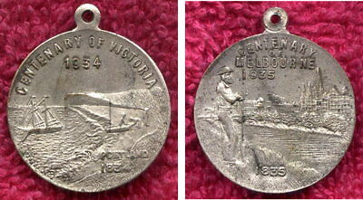 1934-35 Centenary of Victoria and Melbourne medal