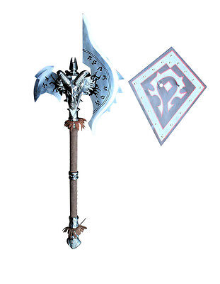 Rams Head Fantasy War Axe