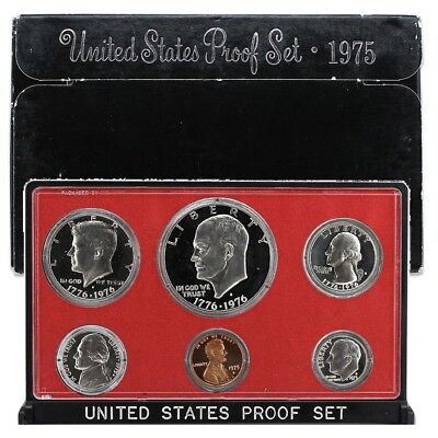 1975-S United States Mint Proof Set - 6 Coins -  OGP