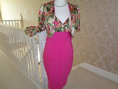 mother of the bride dress and jacket bnwot 16 wedding guest or vintage event