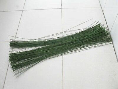 250Pcs Green Covered Florist Wire for Floristry/Crafts 22#