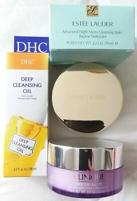 Clinique Take The Day Off / Estee Lauder Baume Nettoyant/ Dhc Deep Clean O