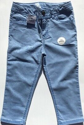 MISS UNDERSTOOD SHORTS Girls Blue Crop Denim Elastic Waist - Size 10 - NEW