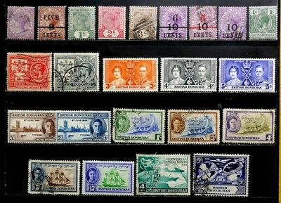 British Honduras: Classic Era Stamp Collection