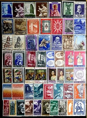 Vatican City: 1950's To 1960's Mostly Unused Stamp Collection