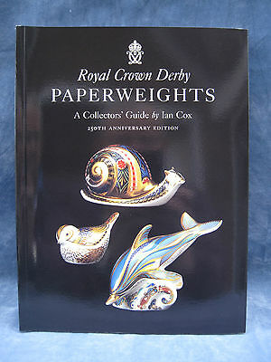 Royal Crown Derby Paperweights A Collectors Guide Book By Ian Cox