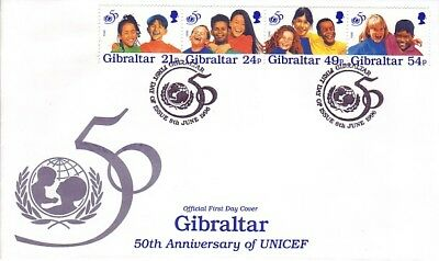 Gibraltar - Special Events, Persons & Anniversaries (11no FDC's) 1994-96