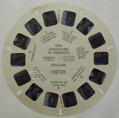 View Master 3D Bildscheibe - 1054 - Ilfracombe To Minehead | England