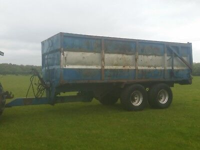 K2 18 Tonne Tipping Trailer With Hydraulic Tailgate And Air/hydraulic Brakes
