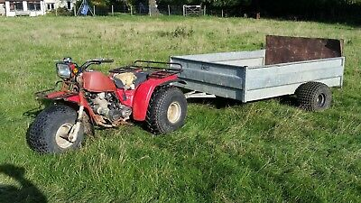Quad Trailer No Reserve- Cheap To Clear!!