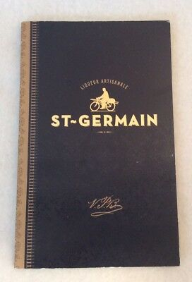 St. Germain French Liqueur booklet Drinks history Mixes book