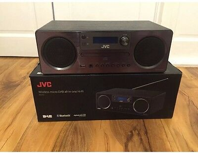 JVC RD-D70 ALL IN ONE AUDIO-CD,DAB RADIO,MP3,BLUETOOTH,AUX and fm