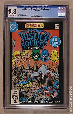 Last Days of the Justice Society Special #1 1986 CGC 9.8 1396883024