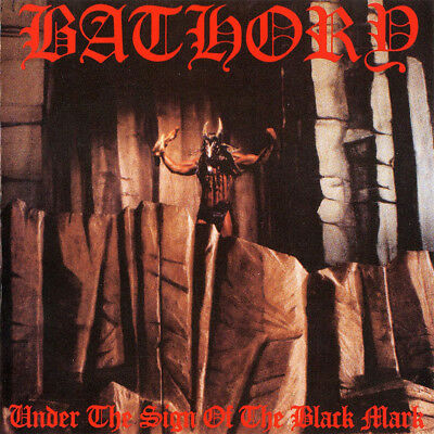 BATHORY - Under the Sign of Black Mark  LP  BLACK