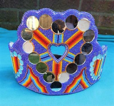Native American Indian Fully Beaded Princess Crown