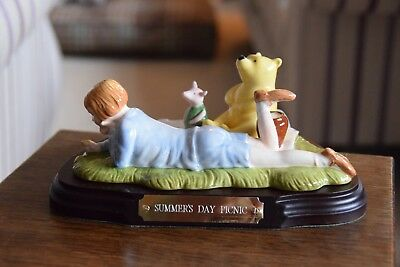 LIMITED EDITION ROYAL DOULTON -  WINNIE THE POOH - SUMMERS DAY PICNIC No 4309
