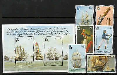 Biot 2005 Trafalgar And Nelson Set And Ms Fine Um/mnh