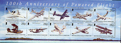 Biot 2003 Powered Flight Ms Fine Um/mnh