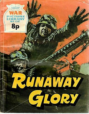 RUNAWAY GLORY No 1087 1975  48137  War Picture Library