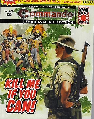 2016 13 Aug No 4942 53373  Latest Edition Commando Comic   KILL ME IF YOU CAN