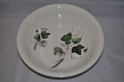 """Palissy Royal Worcester Shadow Rose 9"""" Bowl"""