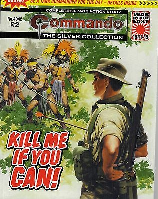 2016 13 Aug No 4942 53380  Latest Edition Commando Comic   KILL ME IF YOU CAN