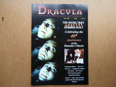 Dracula The House That Hammer Built Special Magazine 1998 VG
