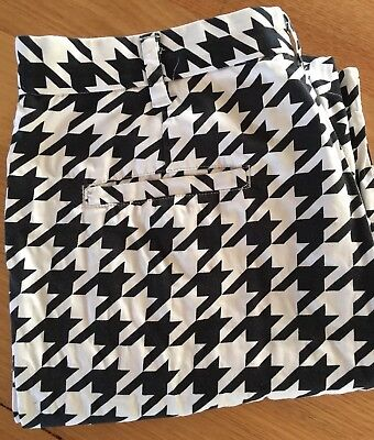 Funky Loudmouth Golf Mens Shorts, Style = Houndstooth , Sz 36 Stand Out!