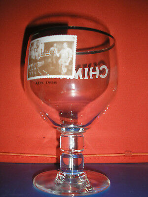 Rare Verre A Biere °°Chimay Ads Annee  1956 33Cl °°No Orval ,westvleteren,duvel