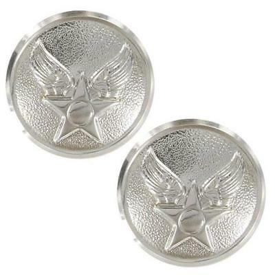 USAF Air Force Epaulet Buttons Hap Arnold Honor Guard - 25 ligne (Made in USA)