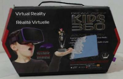 NEW OPEN BOX Tzumi 5122B Dream Vision Kids 360 VR Headset – Purple