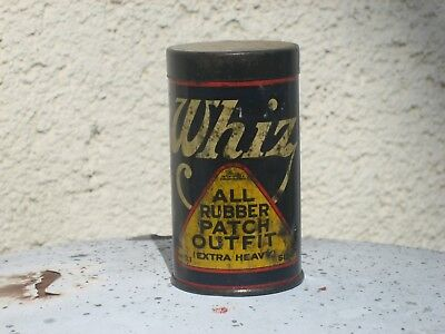 `20's WHIZ TIN~ALL RUBBER PATCH OUTFIT~EXTRA HEAVY~WHIZ KIDS ELVES