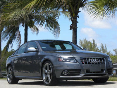 2012 Audi S4 S4-32K MILES-19'S--B&O-FINEST ON THE PLANET-SERVIC 012 AUDI S4-32K MI-ORIGINAL PAINT-B&O-19'WHEELS-FINEST ANYWHERE-CARFAX CERTIFIED